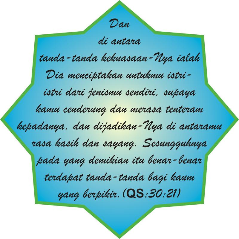 Al Qur'an Surat Ar Ruum 21